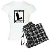 Content Rated Liberal Women's Light Pajamas