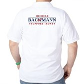 Anti-Bachmann Irony Golf Shirt