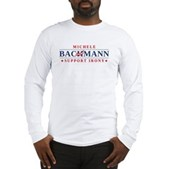 Anti-Bachmann Irony Long Sleeve T-Shirt