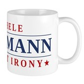Anti-Bachmann Irony Mug