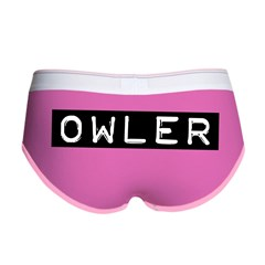 Owler Label Women's Boy Brief