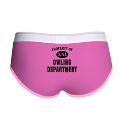 Property of Owling Dept Women's Boy Brief