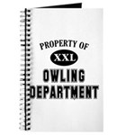 Property of Owling Dept Journal