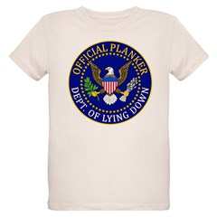 Official Planker Seal Organic Kids T-Shirt