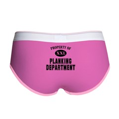 Property of Planking Dept Women's Boy Brief