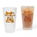 Ivrea Battle Of The Oranges Souvenirs Gifts Tees Drinking Glass
