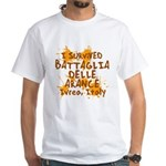 Ivrea Battle Of The Oranges Souvenirs Gifts Tees White T-Shirt
