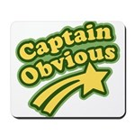 Captain Obvious Mousepad