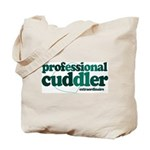 Professional Cuddler Tote Bag