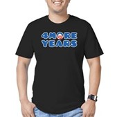4 More Years Men's Fitted T-Shirt (dark)
