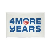 4 More Years Rectangle Magnet