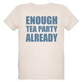 Enough Tea Party Already Organic Kids T-Shirt
