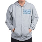 Hey, Tea Party Zip Hoodie