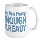 Hey, Tea Party Large Mug