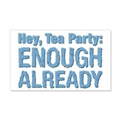Hey, Tea Party 22x14 Wall Peel