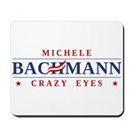 A funny anti-Michele Bachmann spoof design teasing a controversial magazine cover featuring crazy Bachmann and her crazy eyes. We just can't get enough of those crazy eyes!
