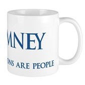 Anti-Romney Corporations Mug