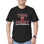 Team Perry Men's Fitted T-Shirt (dark)