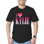 I Heart Kylie Men's Fitted T-Shirt (dark)