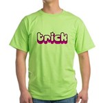 Retro Trick Green T-Shirt