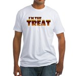 Glowing I'm the Treat Fitted T-Shirt