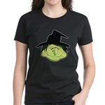 Happy Green Witch Women's Dark T-Shirt