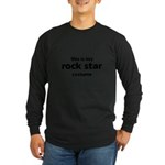 this is my rock star costume Long Sleeve Dark T-Shirt