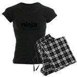 Generic ninja Costume Women's Dark Pajamas