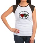 US Army - I love a man that.. Women's Cap Sleeve T