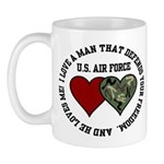 Air Force I love a man ... Mug