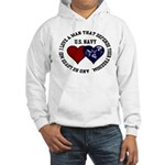 US Navy I love a man... Hooded Sweatshirt