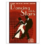 Retro Inspired DWTS Poster Small Poster