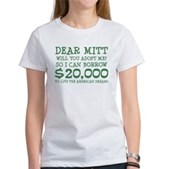 Mitt Will You Adopt Me? Women's T-Shirt