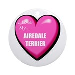 Airedale Terrier Lover Ornament
