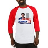 Anti-Romney Shadow Baseball Jersey