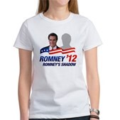 Anti-Romney Shadow Women's T-Shirt