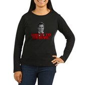 Anti-Romney: Unfit To Serve Women's Long Sleeve Da