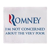 Anti-Romney: Very Poor Stadium Blanket
