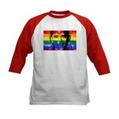 LGBT for Obama Kids Baseball Jersey