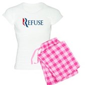 Anti-Romney Refuse Women's Light Pajamas