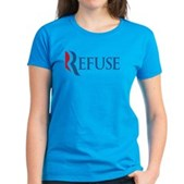 Anti-Romney Refuse Women's Dark T-Shirt