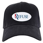 Anti-Romney Refuse Black Cap