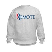Anti-Romney Remote Kids Sweatshirt