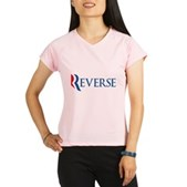 Anti-Romney Reverse Performance Dry T-Shirt