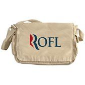 Anti-Romney ROFL Messenger Bag