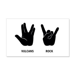 Vulcans Rock 20x12 Wall Decal