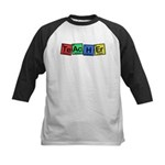 Teacher made of Elements whimsy Kids Baseball Jersey