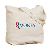 Anti-Romney RMONEY Tote Bag