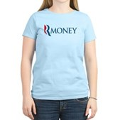 Anti-Romney RMONEY Women's Light T-Shirt
