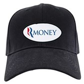 Anti-Romney RMONEY Black Cap